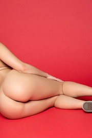 Busty Brunette Dillion Harper Strips And Poses Nude