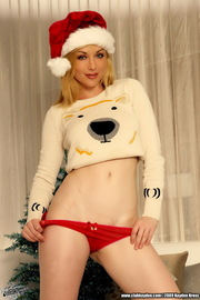 Kayden Kross Hot Beauty Christmas Present