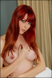 Nude Marie McCray Sexy Redhead Babe