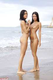 Lesbian Naked Girl At Beach