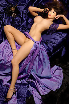 Claire Sinclair Busty Brunette Babe