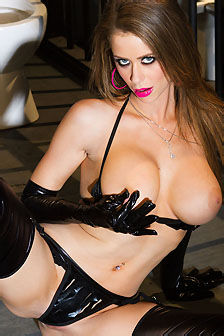 Emily Addison In The Prison Cell