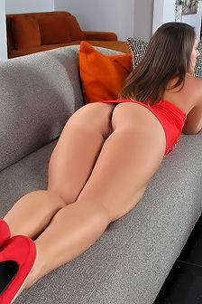 Jamie Jackson Sexy Red High Heels