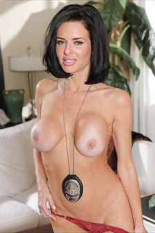 Busty Black Haired Milf