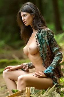 Jasmine A Naked At Forest