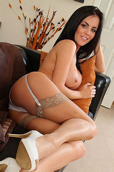 Emma Glover In Sexy Lingerie